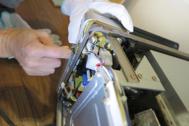 家電の修理